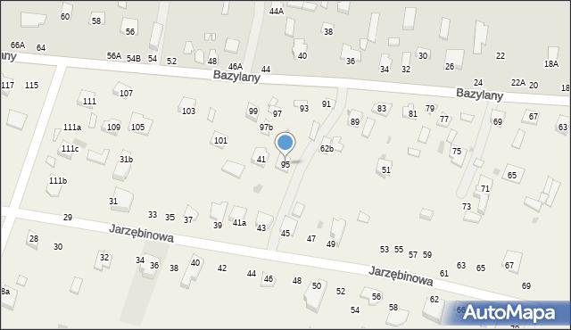 Pokrówka, Bazylany, 95, mapa Pokrówka