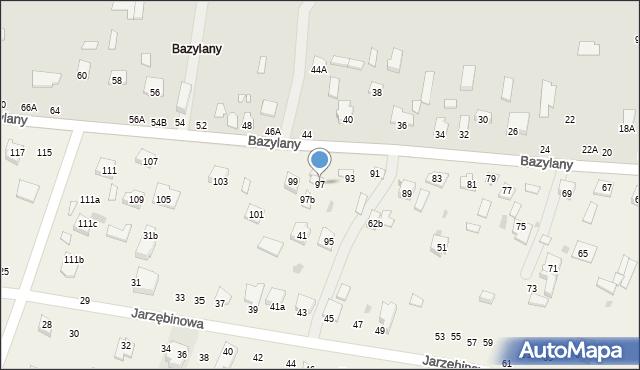 Pokrówka, Bazylany, 97, mapa Pokrówka