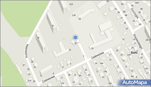 Radom, Batalionów Chłopskich, 31, mapa Radomia