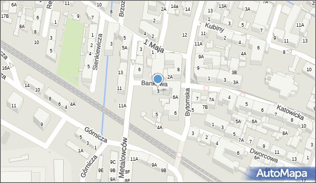 Świętochłowice, Bankowa, 3, mapa Świętochłowice