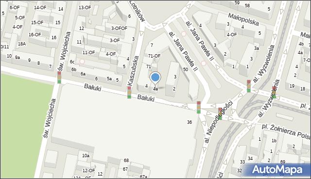 Szczecin, Bałuki Edmunda, 4a, mapa Szczecina