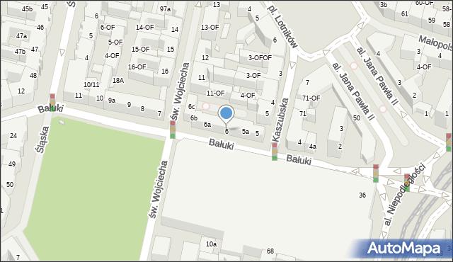 Szczecin, Bałuki Edmunda, 6, mapa Szczecina