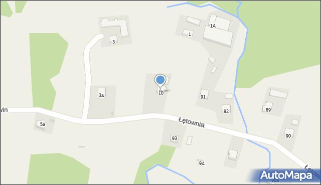 Bełwin, Bełwin, 1b, mapa Bełwin