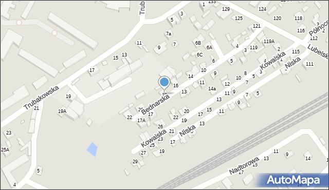 Chełm, Bednarska, 18, mapa Chełma