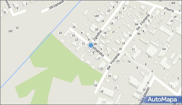 Radom, Bednarska, 7, mapa Radomia