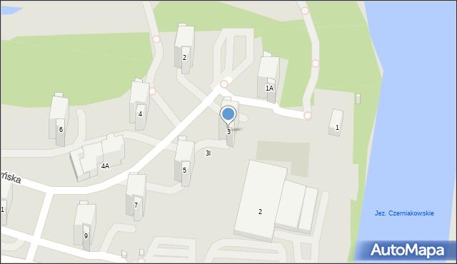 Warszawa, Bernardyńska, 3, mapa Warszawy