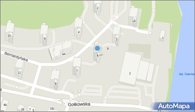 Warszawa, Bernardyńska, 5, mapa Warszawy