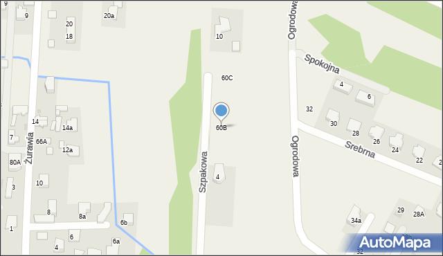 Bielicha, Bielicha, 56, mapa Bielicha