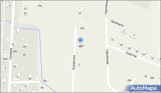 Bielicha, Bielicha, 60B, mapa Bielicha