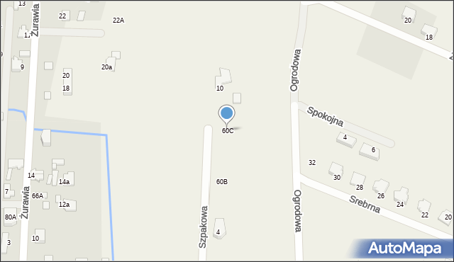 Bielicha, Bielicha, 60C, mapa Bielicha