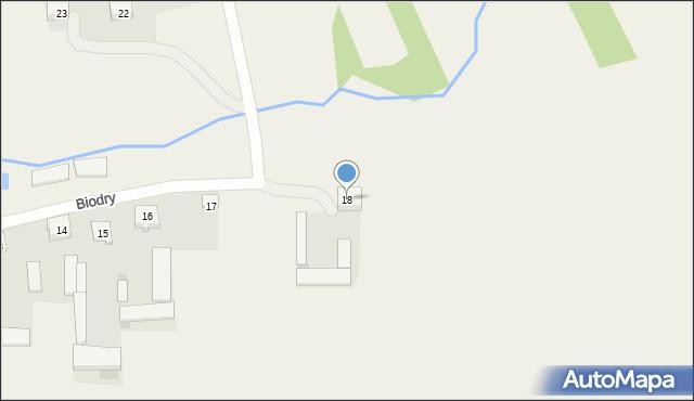 Biodry, Biodry, 18, mapa Biodry