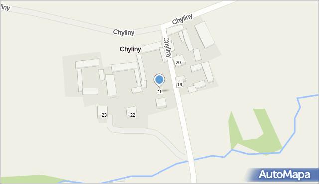 Biodry, Biodry, 21, mapa Biodry