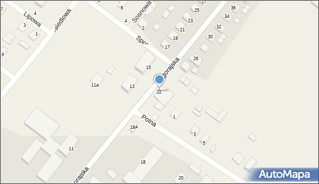 Księżpol, Biłgorajska, 22, mapa Księżpol
