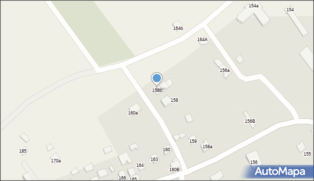 Bolestraszyce, Bolestraszyce, 158b, mapa Bolestraszyce
