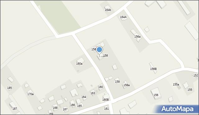 Bolestraszyce, Bolestraszyce, 158e, mapa Bolestraszyce