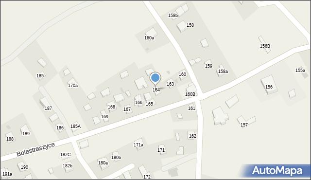 Bolestraszyce, Bolestraszyce, 164, mapa Bolestraszyce