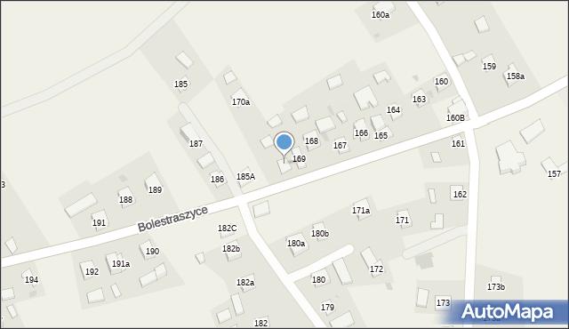 Bolestraszyce, Bolestraszyce, 170, mapa Bolestraszyce