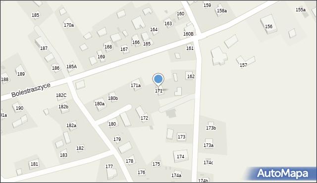 Bolestraszyce, Bolestraszyce, 171, mapa Bolestraszyce