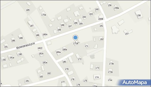 Bolestraszyce, Bolestraszyce, 171a, mapa Bolestraszyce