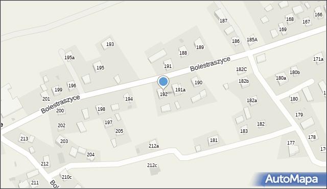 Bolestraszyce, Bolestraszyce, 192, mapa Bolestraszyce