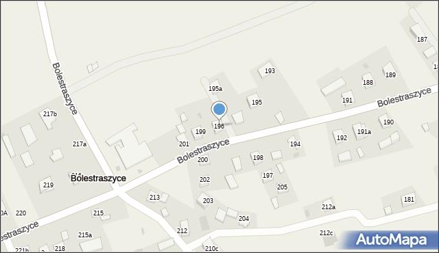 Bolestraszyce, Bolestraszyce, 196, mapa Bolestraszyce