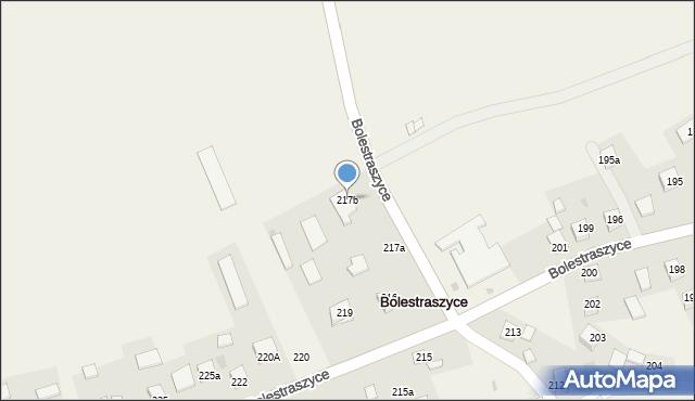 Bolestraszyce, Bolestraszyce, 217b, mapa Bolestraszyce