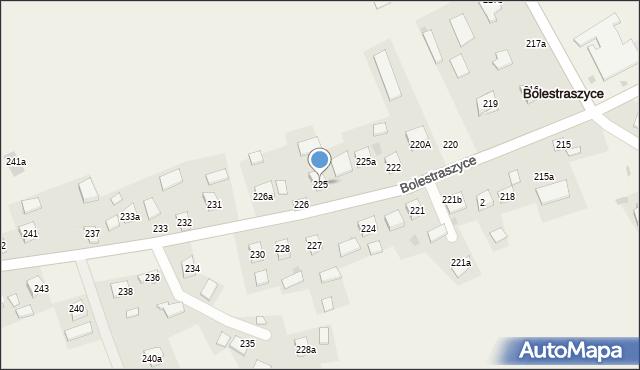 Bolestraszyce, Bolestraszyce, 225, mapa Bolestraszyce