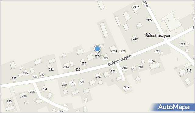 Bolestraszyce, Bolestraszyce, 225a, mapa Bolestraszyce