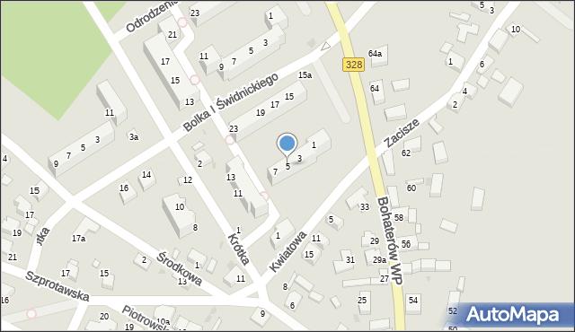Chocianów, Bolka I Świdnickiego, 5, mapa Chocianów
