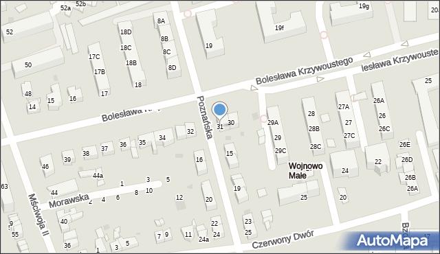 Gdańsk, Bolesława Krzywoustego, 31, mapa Gdańska