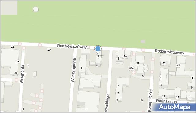 Kołobrzeg, Borzymowskiego Marcina, 9, mapa Kołobrzegu