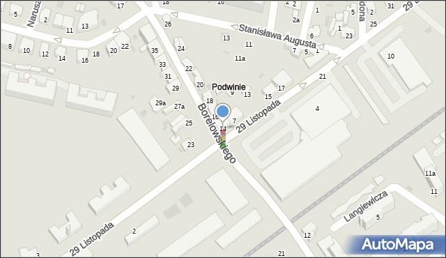 Przemyśl, Borelowskiego Marcina, płk., 14, mapa Przemyśla