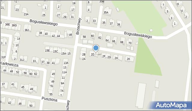 Białystok, Brzechwy Jana, 2E, mapa Białegostoku