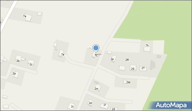 Brunów, Brunów, 7C, mapa Brunów