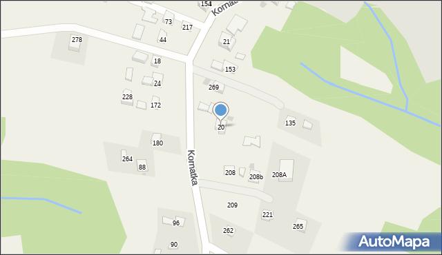 Brzezowa, Brzezowa, 20, mapa Brzezowa