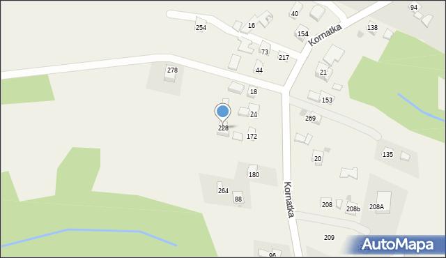 Brzezowa, Brzezowa, 228, mapa Brzezowa