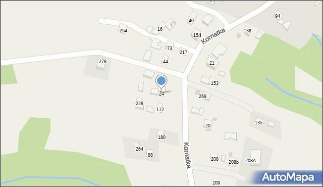 Brzezowa, Brzezowa, 24, mapa Brzezowa