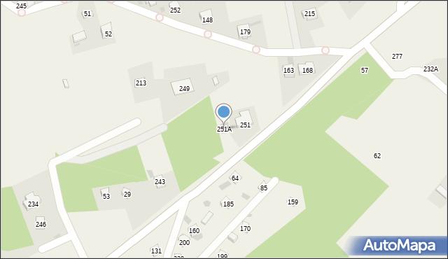 Brzezowa, Brzezowa, 251A, mapa Brzezowa