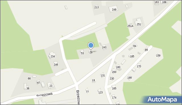 Brzezowa, Brzezowa, 29, mapa Brzezowa
