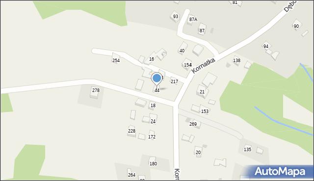 Brzezowa, Brzezowa, 44, mapa Brzezowa