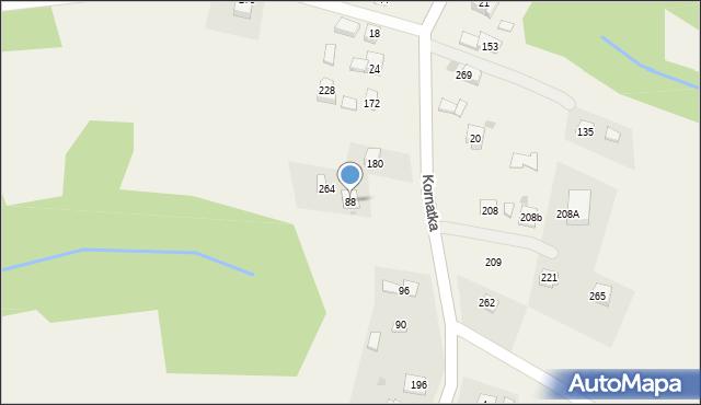 Brzezowa, Brzezowa, 88, mapa Brzezowa