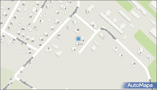 Chełm, Braci Gierymskich, 7, mapa Chełma