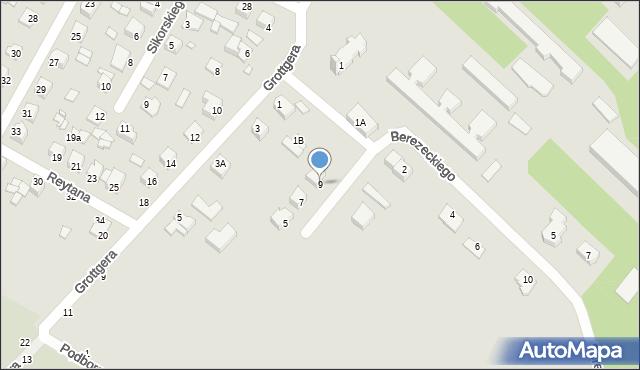 Chełm, Braci Gierymskich, 9, mapa Chełma