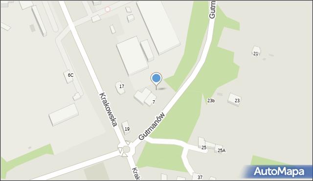 Jaworzno, Braci Gutmanów, 20, mapa Jaworzno