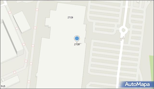 Łódź, Brzezińska, 27/29, mapa Łodzi