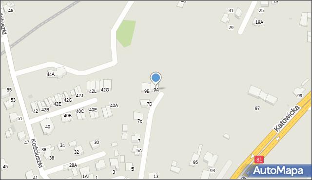 Mikołów, Brzechwy Jana, 9A, mapa Mikołów