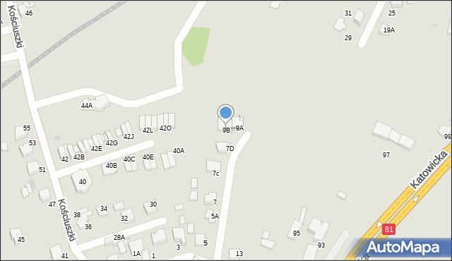 Mikołów, Brzechwy Jana, 9B, mapa Mikołów