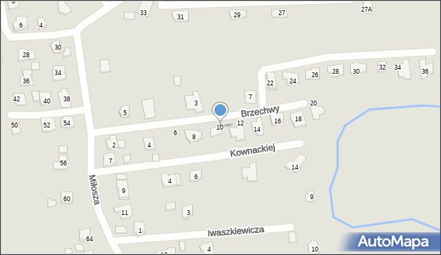 Rzeszów, Brzechwy Jana, 10, mapa Rzeszów