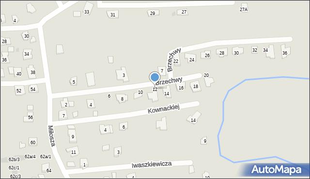 Rzeszów, Brzechwy Jana, 12, mapa Rzeszów