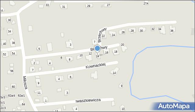Rzeszów, Brzechwy Jana, 14, mapa Rzeszów